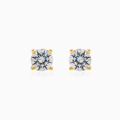 Classic stud diamond earrings unisex Earrings MC Diamonds