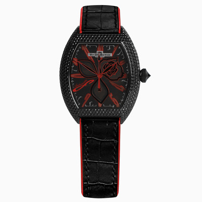 Чёрная тень/Black Shadow 12903 Женские Часы Van der Bauwede