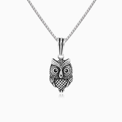 Wise owl man necklaces NT