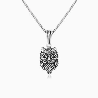 Wise owl man Pendants Animale
