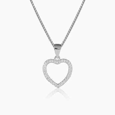 Lovely heart woman pendants MC Silver