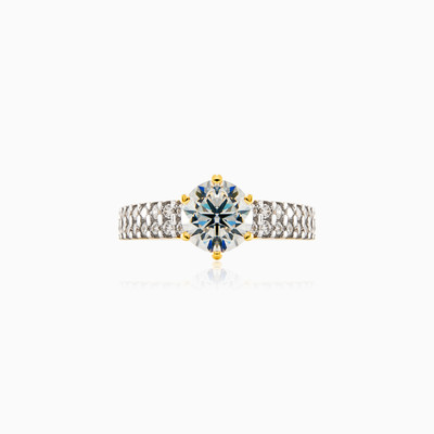 Chic engagement ring woman engagement rings