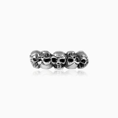 Skull dance ring unisex Rings Simbólico