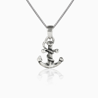 Anchor necklace unisex Pendants Simbólico
