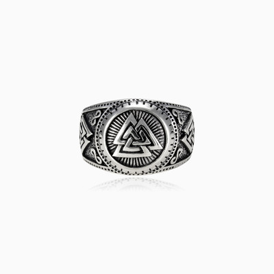The valknut ring man rings NT