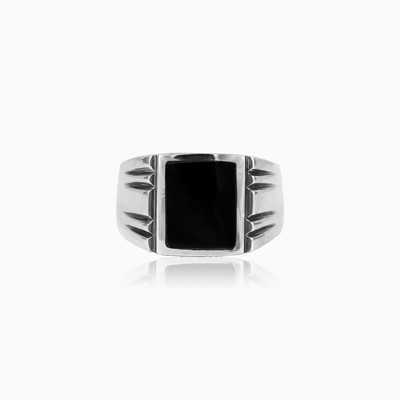 Deep onyx ring man rings NT