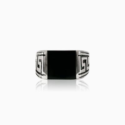 Greek pattern ring unisex Rings Hellas