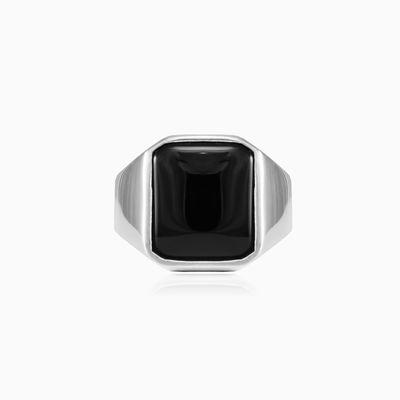 Onyx ring unisex Rings High polished