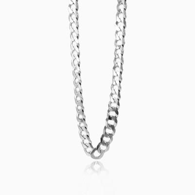 Серебряная цепочка с панцерным плетением Мужские Цепочки Harmony