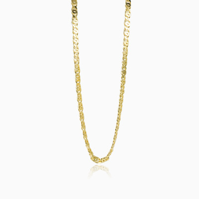 Yellow gold Mariner chain man chains