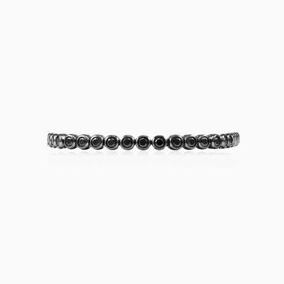 Bezel onyx bracelet unisex Bracelets High polished