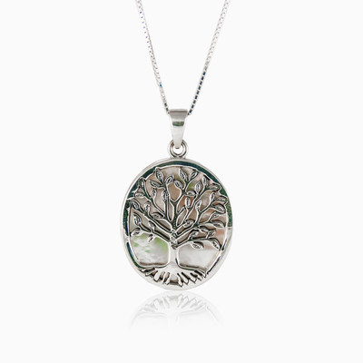 Tree of life unisex colgantes
