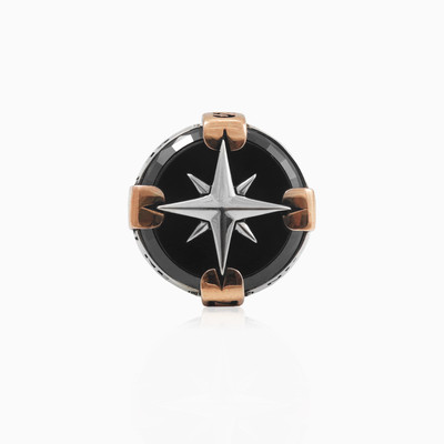 Onyx rose wind ring man rings NT