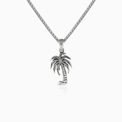 Palm tree unisex pendants