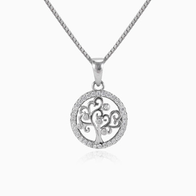 Lovely tree of life woman pendants MC Silver