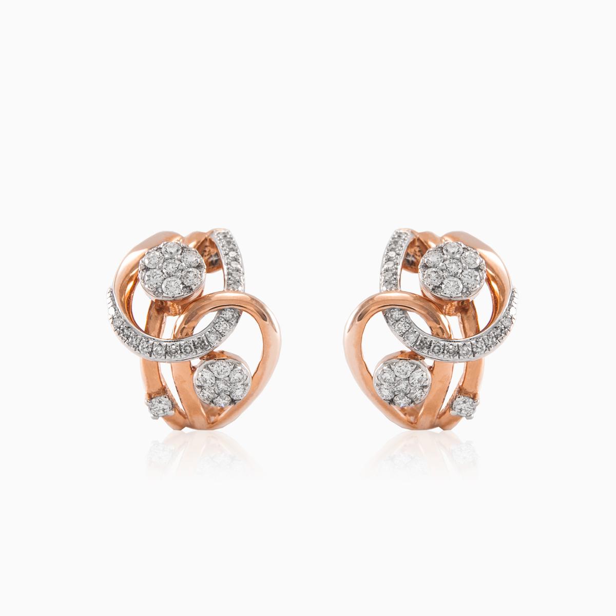 Unique Diamond Earrings Monte Cristo