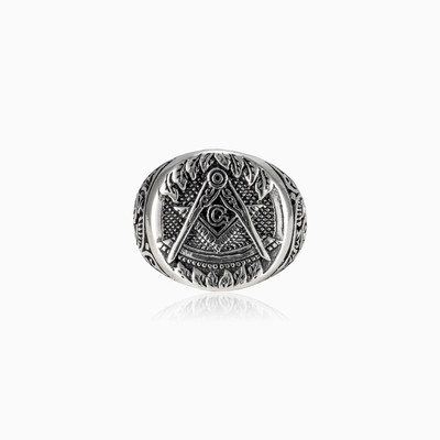 Freemason ring unisex Rings Simbólico
