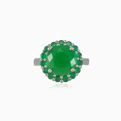 Antique jade ring woman Rings Colorino