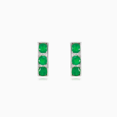 Channel jade earrings woman Earrings Colorino