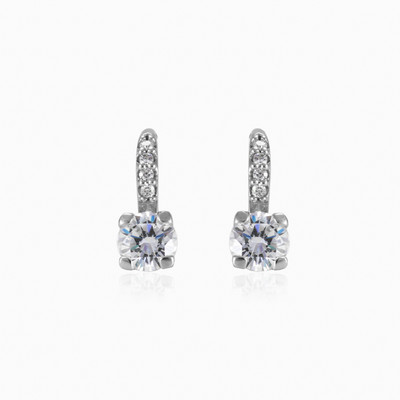 Accent white gold earrings woman earrings MC Gold