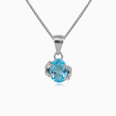 Protected topaz pendant woman pendants