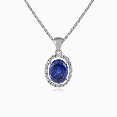 Royal tanzanite pendant woman pendants