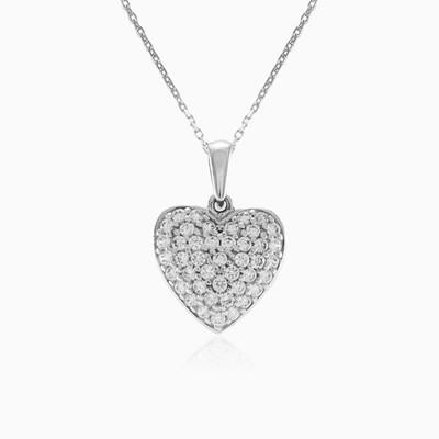 Sparkle heart woman Pendants Lovely