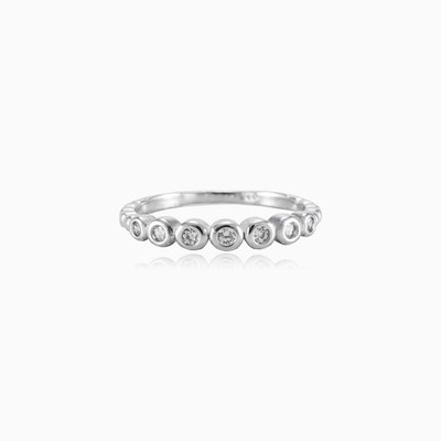 Thin bezel ring woman rings Shine bright
