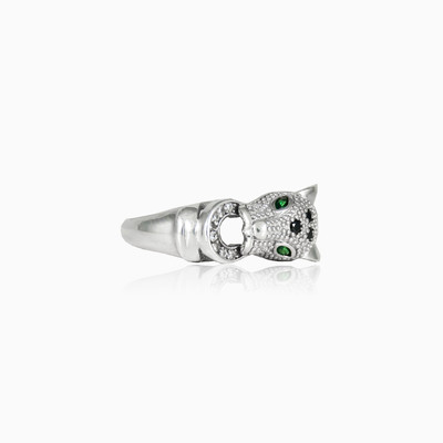 Green eyed tiger woman Rings Animale