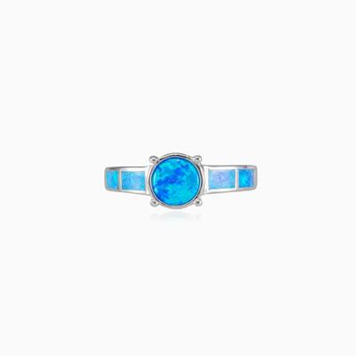 Hüftblauer Opalring Frauen Ringe Colorino