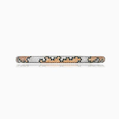 Snakey rigid silver bracelet woman Bracelets Animale