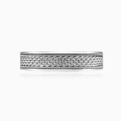 Braided cuff bracelet man Bracelets Rustico