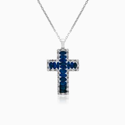 Zancan sapphire cross mujer Colgantes Zancan