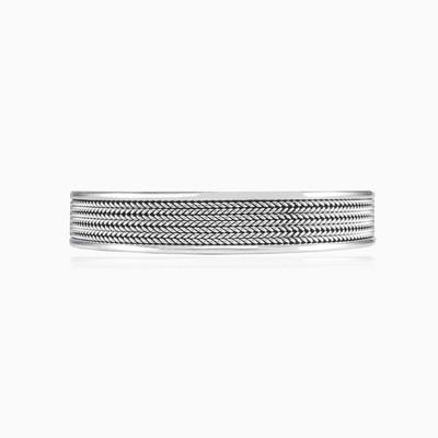 Mithril cuff bracelet unisex Bracelets Rustico