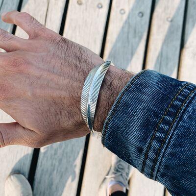 Feather cuff unisex Bracelets