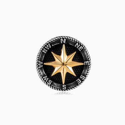 Golden rose wind ring unisex Rings Simbólico