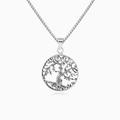 Branched tree of life pendant unisex pendants