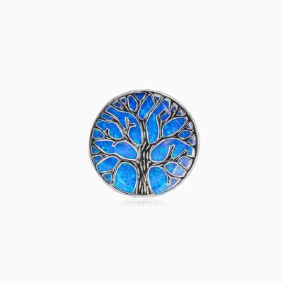 TOL blue opal ring woman Rings Tree of life