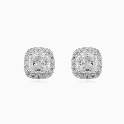 Square royal studs unisex boucles d'oreilles