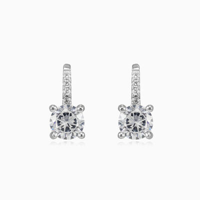 One crystal drop earrings woman Earrings
