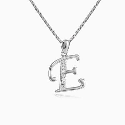Letter E pendant woman Pendants Letters