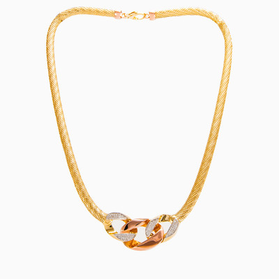 Knotted gold necklace woman necklaces MC Gold