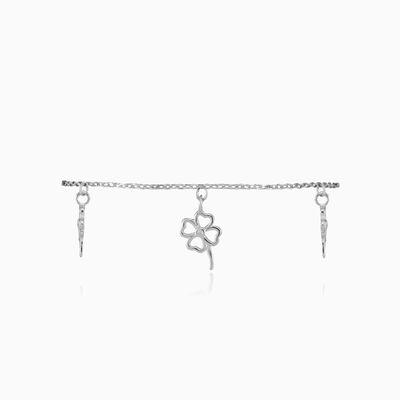 Clover dangling bracelet woman Bracelets Simbólico