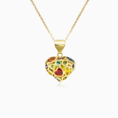 Mosaico heart pendant woman Pendants Mosaico