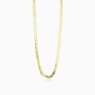 Flat mariner gold chain unisex Chains Harmony