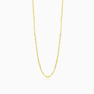 Thin gold cable chain unisex Chains Harmony