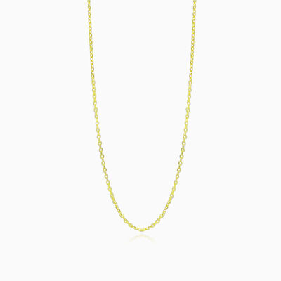 Gold cable chain unisex Chains Harmony