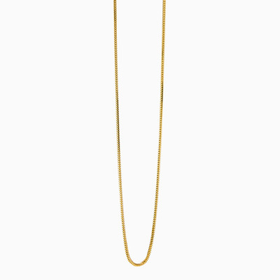 Yellow gold snake chain unisex chains MC Gold