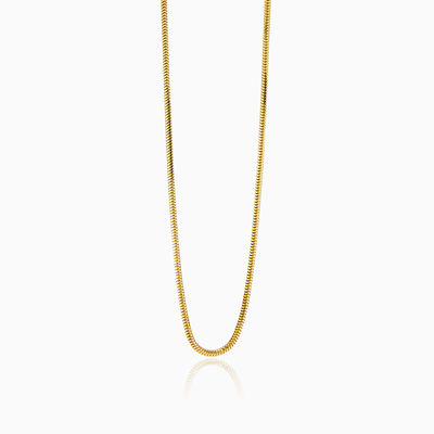 YELLOW GOLD CHAIN unisex chains Lustrous