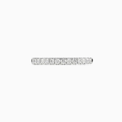 One line diamond ring woman Wedding rings